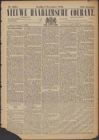 Nieuwe Haarlemsche Courant 1894-11-04