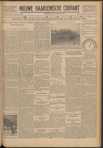 Nieuwe Haarlemsche Courant 1932-01-20