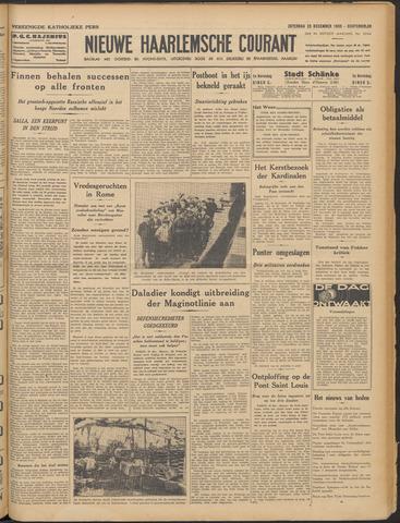 Nieuwe Haarlemsche Courant 1939-12-23