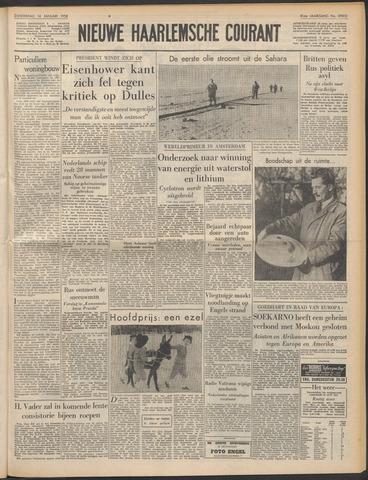 Nieuwe Haarlemsche Courant 1958-01-16