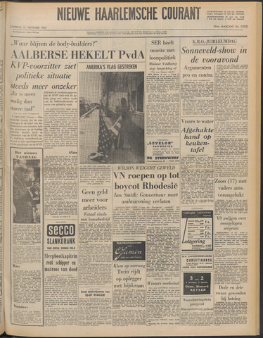 Nieuwe Haarlemsche Courant 1965-11-13