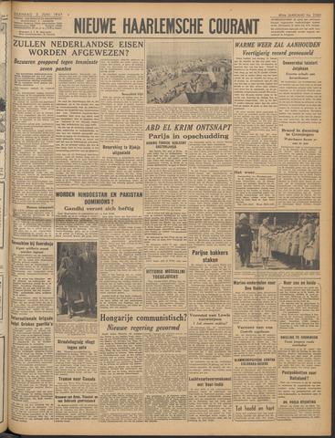 Nieuwe Haarlemsche Courant 1947-06-02