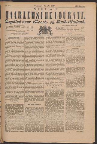 Nieuwe Haarlemsche Courant 1897-11-24