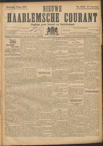 Nieuwe Haarlemsche Courant 1907-01-14