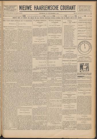Nieuwe Haarlemsche Courant 1931-11-24