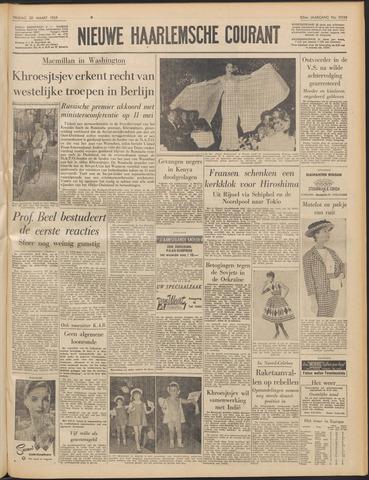 Nieuwe Haarlemsche Courant 1959-03-20