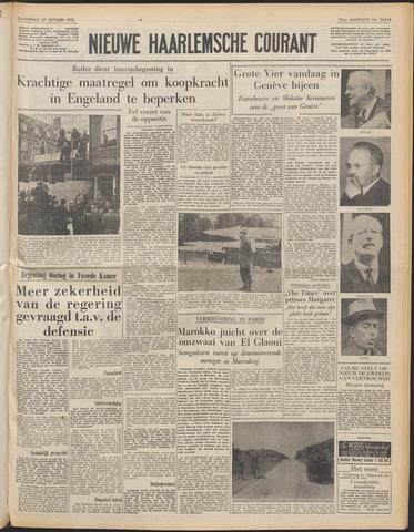 Nieuwe Haarlemsche Courant 1955-10-27