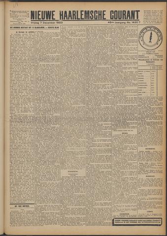 Nieuwe Haarlemsche Courant 1923-12-07