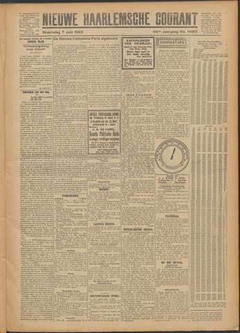 Nieuwe Haarlemsche Courant 1922-06-07