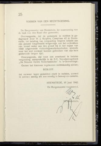 Raadsnotulen Heemstede 1942-06-16