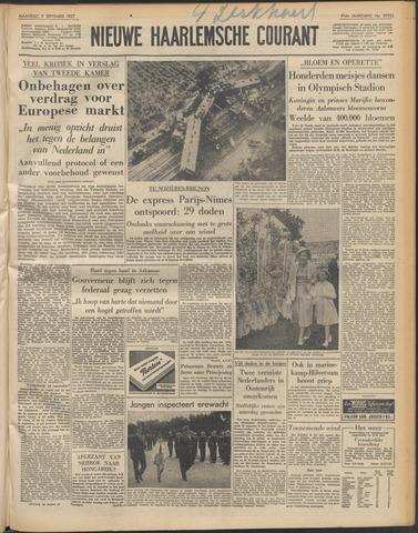 Nieuwe Haarlemsche Courant 1957-09-09