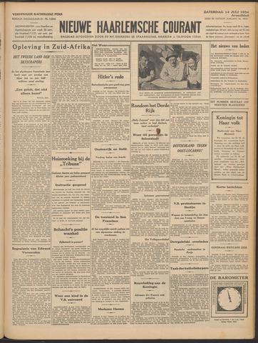 Nieuwe Haarlemsche Courant 1934-07-14
