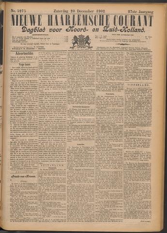 Nieuwe Haarlemsche Courant 1902-12-20