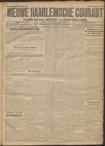 Nieuwe Haarlemsche Courant 1914-11-18