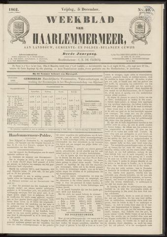 Weekblad van Haarlemmermeer 1862-12-05