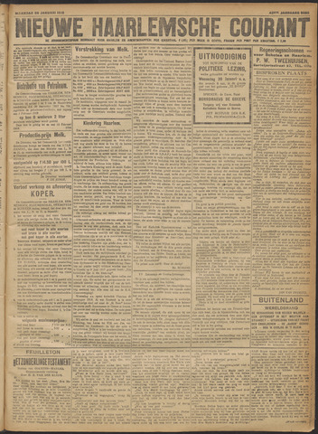 Nieuwe Haarlemsche Courant 1918-01-28