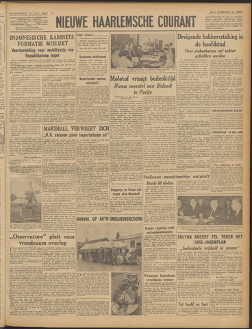 Nieuwe Haarlemsche Courant 1947-07-02