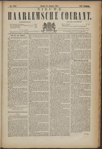 Nieuwe Haarlemsche Courant 1891-01-25