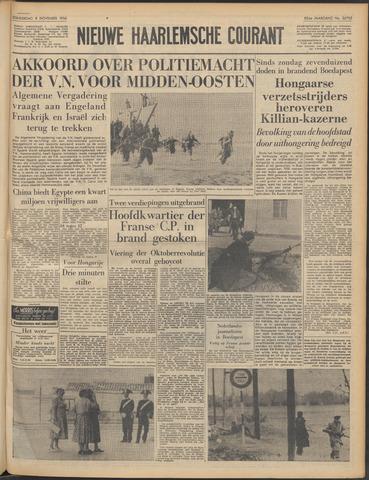 Nieuwe Haarlemsche Courant 1956-11-08