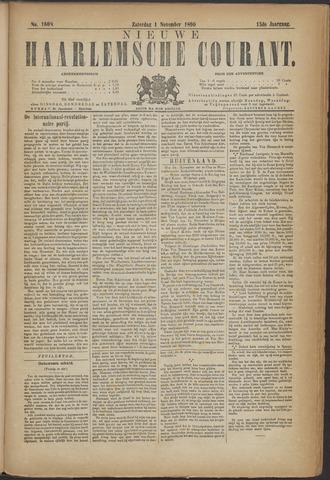 Nieuwe Haarlemsche Courant 1890-11-01