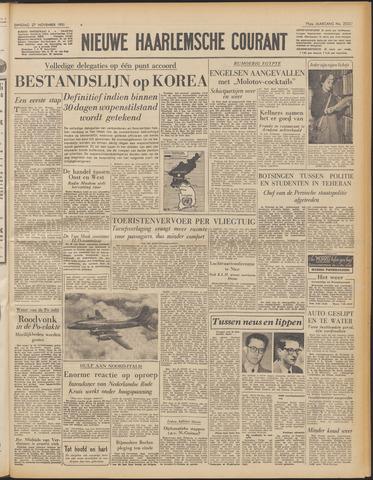 Nieuwe Haarlemsche Courant 1951-11-27