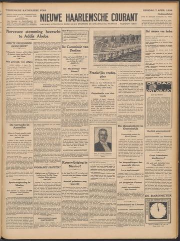 Nieuwe Haarlemsche Courant 1936-04-07