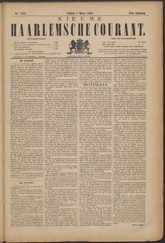 Nieuwe Haarlemsche Courant 1888-03-02