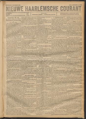 Nieuwe Haarlemsche Courant 1920-11-03