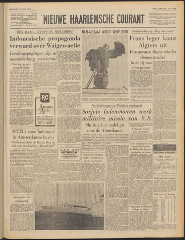 Nieuwe Haarlemsche Courant 1962-04-02