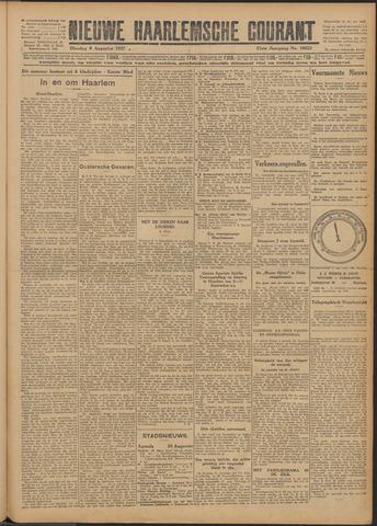 Nieuwe Haarlemsche Courant 1927-08-09