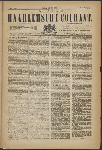 Nieuwe Haarlemsche Courant 1891-05-15
