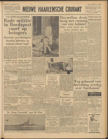 Nieuwe Haarlemsche Courant 1957-01-12