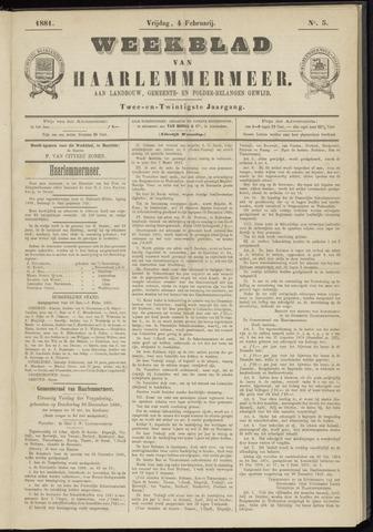 Weekblad van Haarlemmermeer 1881-02-04