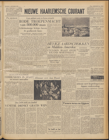 Nieuwe Haarlemsche Courant 1951-09-04