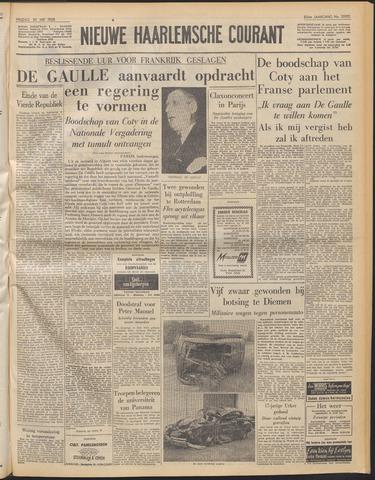 Nieuwe Haarlemsche Courant 1958-05-30