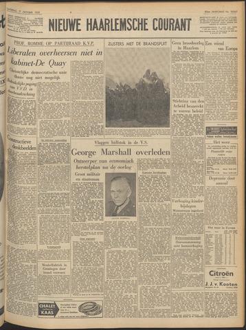 Nieuwe Haarlemsche Courant 1959-10-17