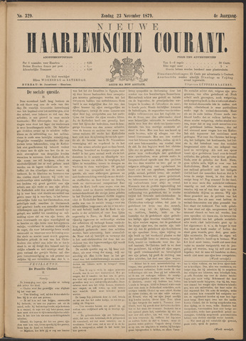 Nieuwe Haarlemsche Courant 1879-11-23