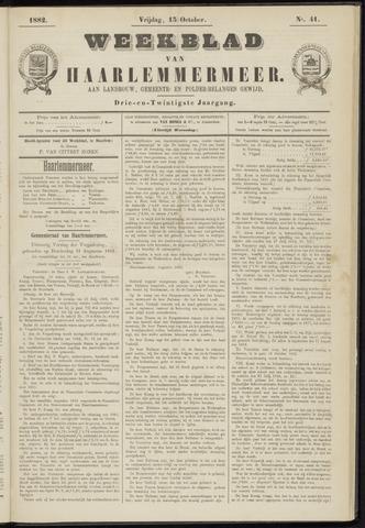 Weekblad van Haarlemmermeer 1882-10-13