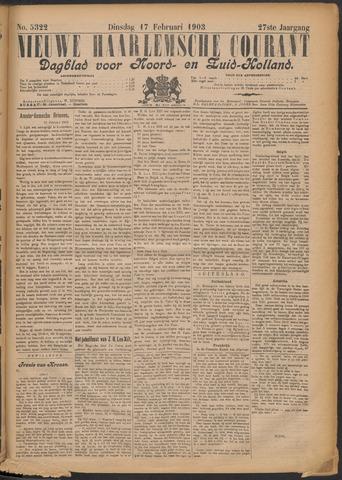 Nieuwe Haarlemsche Courant 1903-02-17