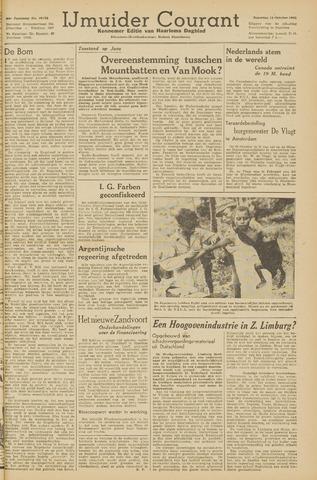 IJmuider Courant 1945-10-13