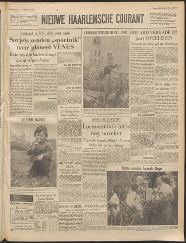 Nieuwe Haarlemsche Courant 1961-02-13