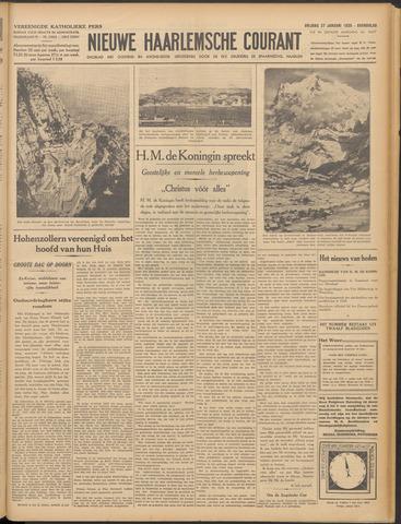 Nieuwe Haarlemsche Courant 1939-01-27