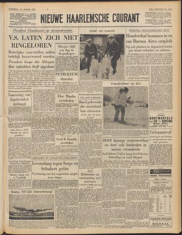 Nieuwe Haarlemsche Courant 1959-01-22