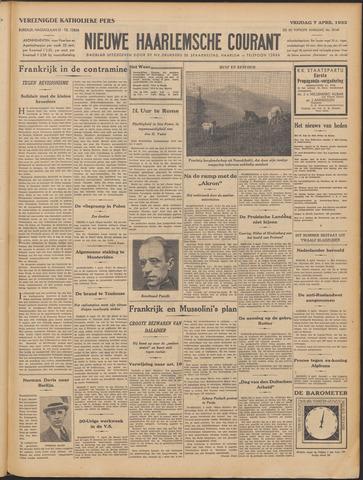 Nieuwe Haarlemsche Courant 1933-04-07