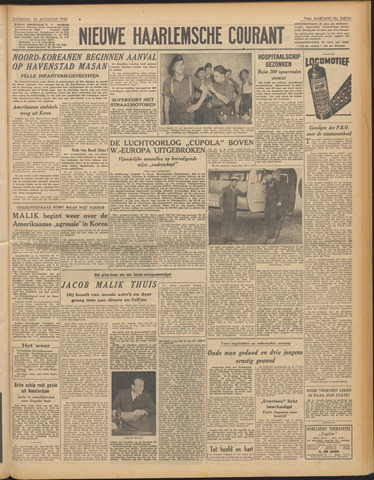 Nieuwe Haarlemsche Courant 1950-08-26