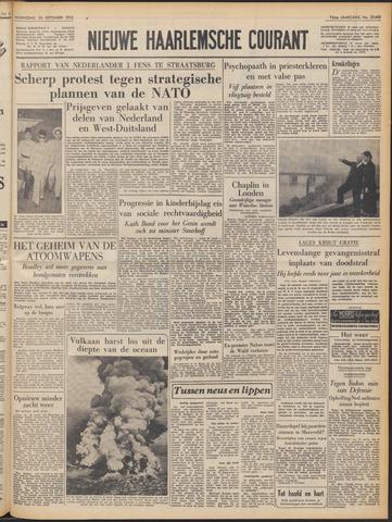 Nieuwe Haarlemsche Courant 1952-09-24