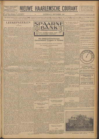 Nieuwe Haarlemsche Courant 1928-09-08