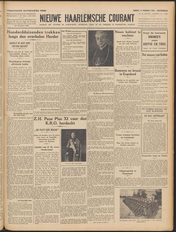 Nieuwe Haarlemsche Courant 1939-02-12