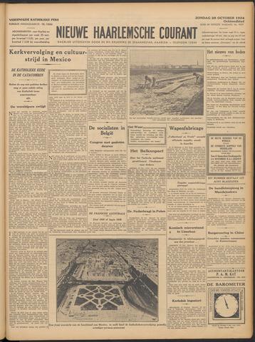 Nieuwe Haarlemsche Courant 1934-10-28