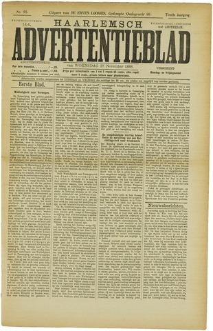 Haarlemsch Advertentieblad 1888-11-28